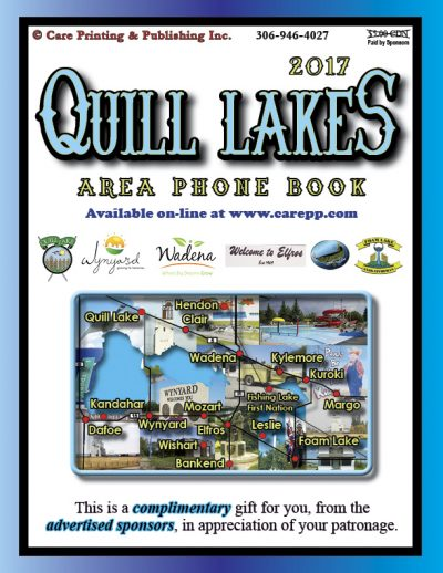 Care Printing | Quill Lakes Phone Book